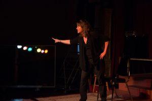 Pamela on Stage